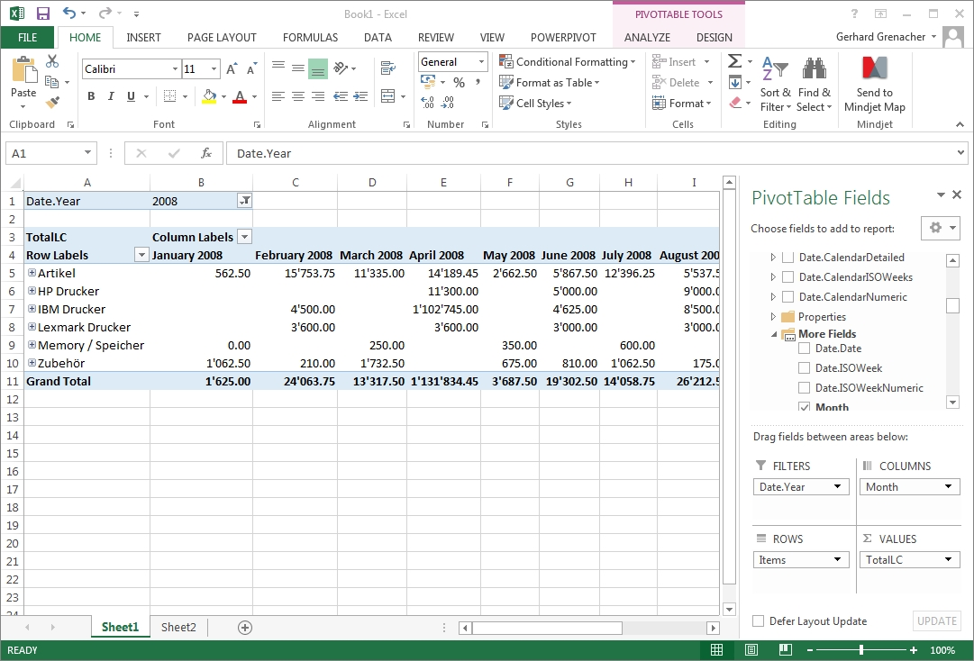 How to Work with Excel Cubes How to Work with Excel Cubes new foto